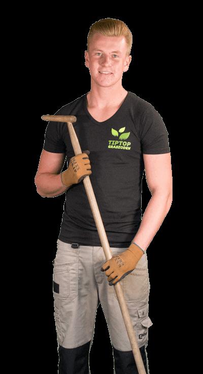 Graszoden laten leggen tip top graszoden